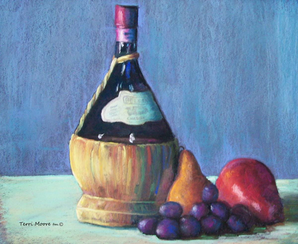 still lifes winebottle